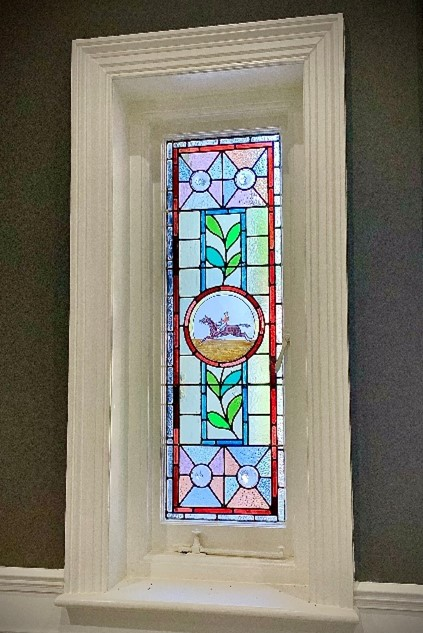 window from chalk lane project epsom